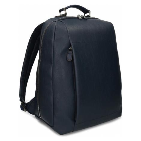 Modrý unisex designový batoh Baťa
