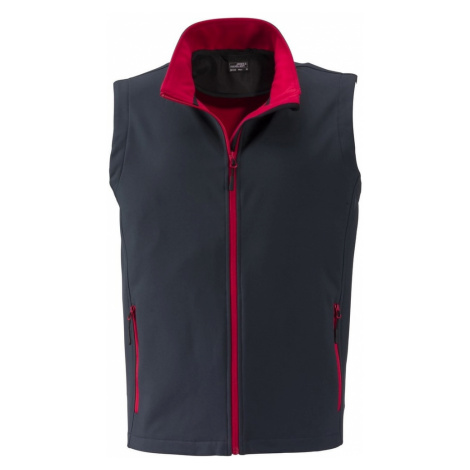 Pánská softshellová vesta JN1128 James & Nicholson