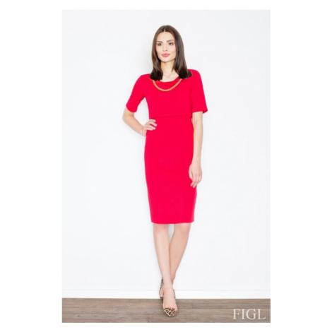 Dámské šaty FIGL M446 červené | červená