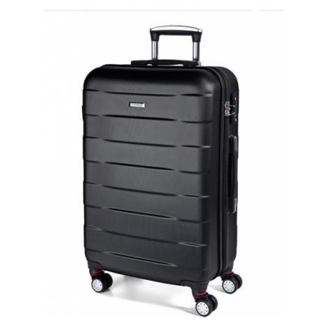 March Střední cestovní kufr Bumper 71 l - černá