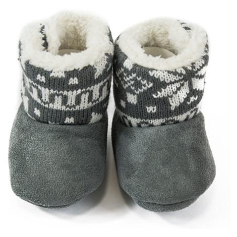 Pidilidi kojenecké capáčky zimní, Pidilidi, PD0561, šedá