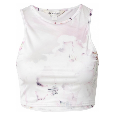 Miss Selfridge Top bílá / růžová