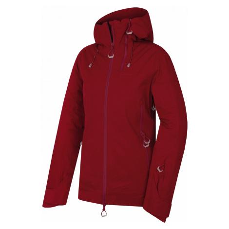 Husky Gambola L, purpurová Dámská lyžařská plněná bunda