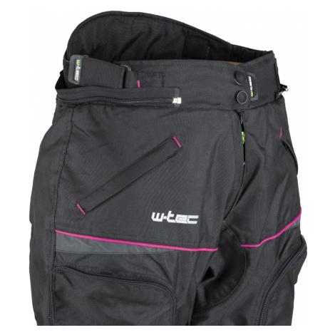 Dámské Moto Kalhoty W-Tec Propant Lady Černo-Růžová