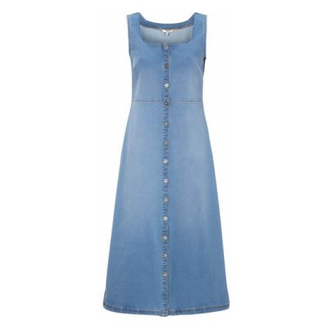 Dlouhé džínové šaty Cellbes