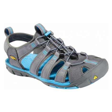 KEEN Clearwater CNX W Dámské sandály KEN1201044903 gargoyle/norse blue