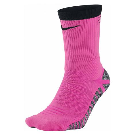 Ponožky Nike Grip Strike Lightweight Crew Růžová / Černá