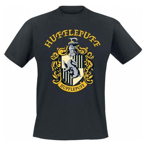 Harry Potter Hufflepuff Tričko černá