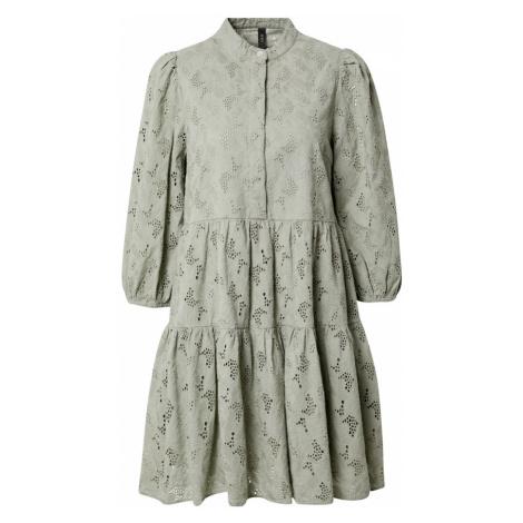 Y.A.S Petite Košilové šaty 'NADINE' šedá