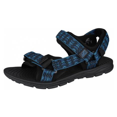 HANNAH Feet Uni sandály 118HH0206BS03 Moroccan blue (wave)