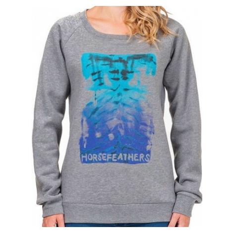 Mikina Horsefeathers Jenny heather gray