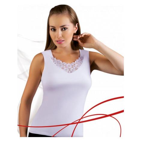 Dámská košilka Emili Berta plus bílá | bílá