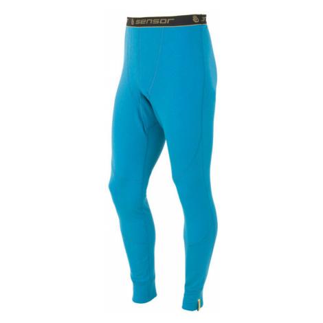 MERINO DF Pánské spodní oboustranné kalhoty 15100026 modrá Sensor