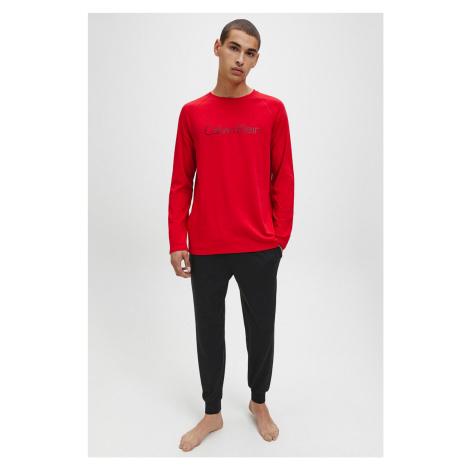 Dárkové balení Calvin Klein Pyžamový set pánský - černá, červená
