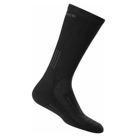Dámské ponožky ICEBREAKER Wmns Hike Medium Crew, Black Icebreaker Merino