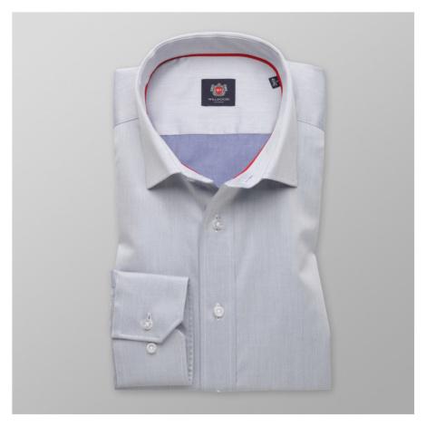 Pánská slim fit košile London 8321 v šedé barvě