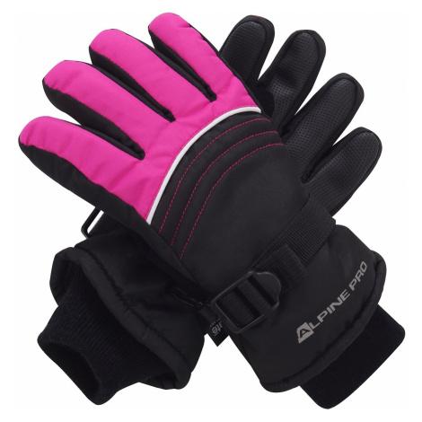 Dětské rukavice Alpine Pro RODO - růžová