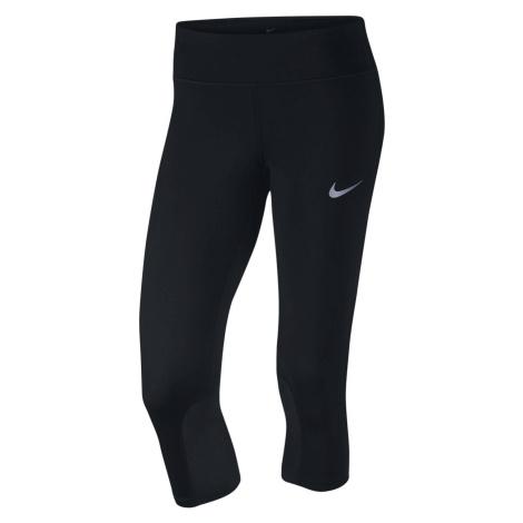 Běžecké capri legíny Nike Power Epic Černá