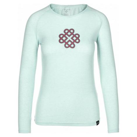 Dámské tričko KILPI GAIA-W světle modrá