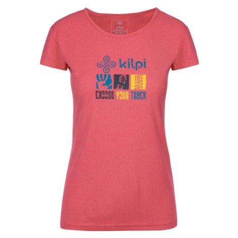 KILPI Dámské funkční triko GIACINTO-W KL0047KIPNK Růžová