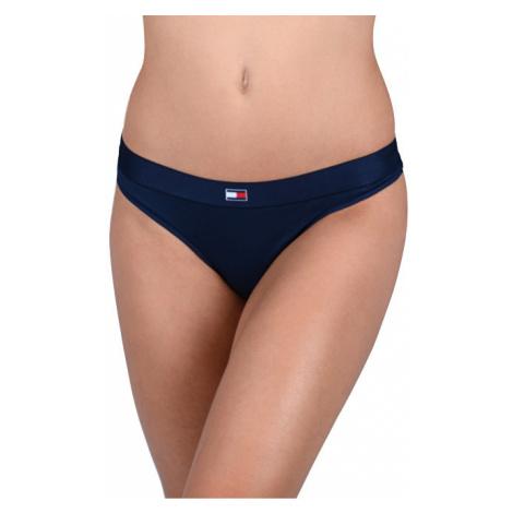 Tommy Hilfiger Dámské kalhotky Flag Core Ctn Thong Navy Blazer UW0UW01051-416