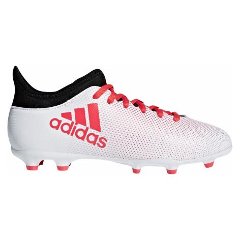 Dětské kopačky adidas X 17.3 FG Bílá / Červená