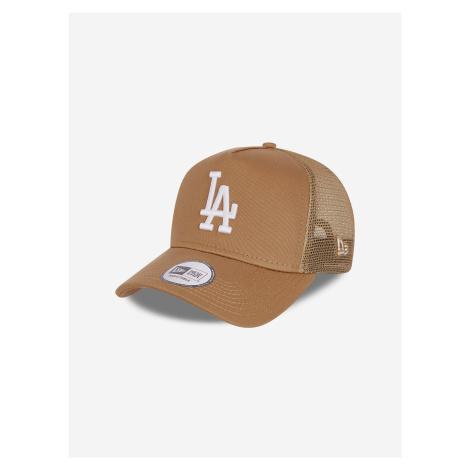 940 AF Los Angeles Dodgers Kšiltovka New Era Hnědá