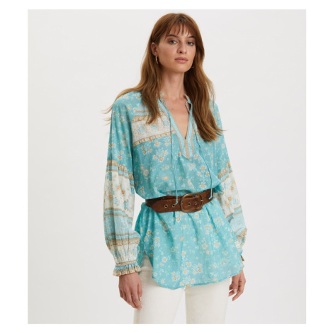 Halenka Odd Molly Bohemic Blouse - Modrá