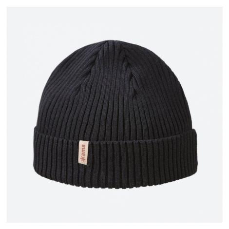 Pletená Merino čepice KAMA A148 - černá (Schoeller - 50%)