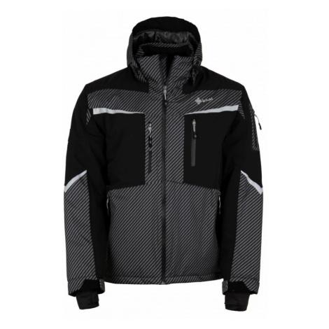 KILPI Pánská lyžařská bunda IO-M HM0113KIDGY Tmavě šedá