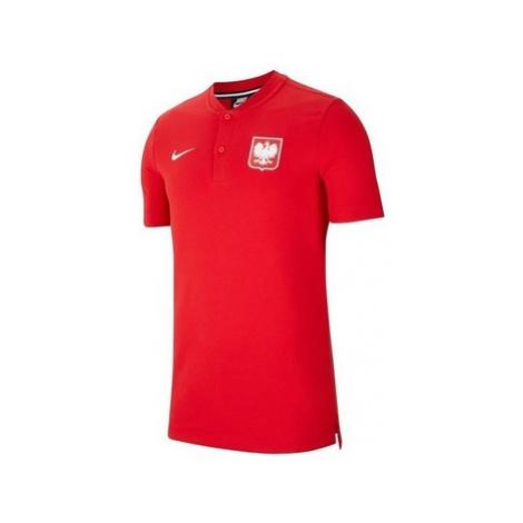 Nike Polska Modern Polo Červená