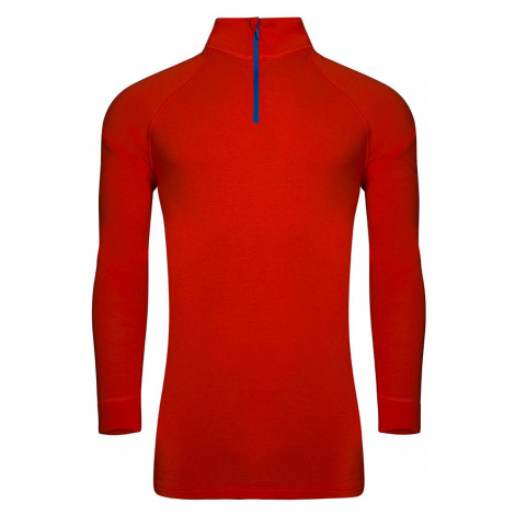 Pánské prádlo - triko Alpine Pro GENET 2 - červeno-oranžová