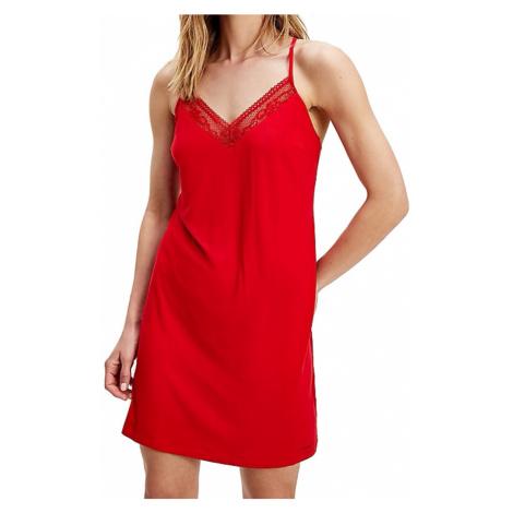 Tommy Hilfiger noční košilka červená - Červená