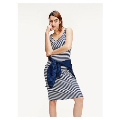 Tommy Jeans dámské pruhované šaty Tommy Hilfiger