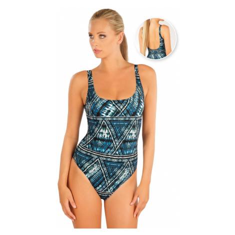 Jednodílné sportovní plavky Litex - modrá