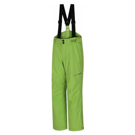 HANNAH KAROK JR Dětské lyžařské kalhoty 10007355HHX01 Lime green