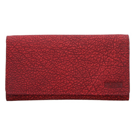 Dámská kožená peněženka Lagen Lussy - červená