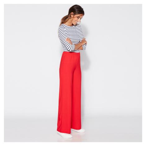 Letní kalhoty červená
