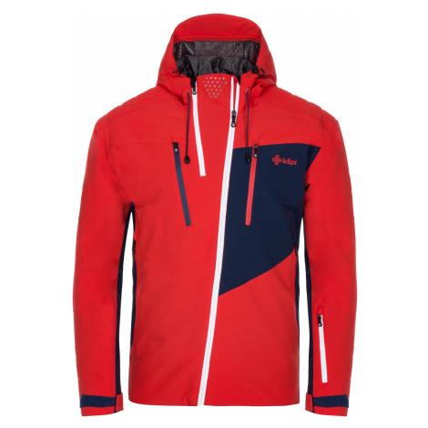 KILPI Pánská lyžařská bunda - větší velikosti THAL-M LMX020KIRED Červená