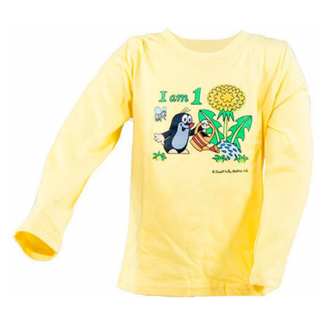 Pidilidi tričko chlapecké KRTEK Iam, Pidilidi, 2001-03-05-07-09-11, žlutá