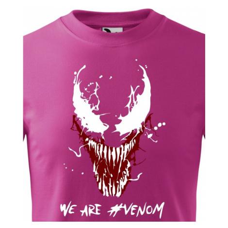 Dětské tričko s potiskem Venom od Marvel - ideální dárek pro fanoušky