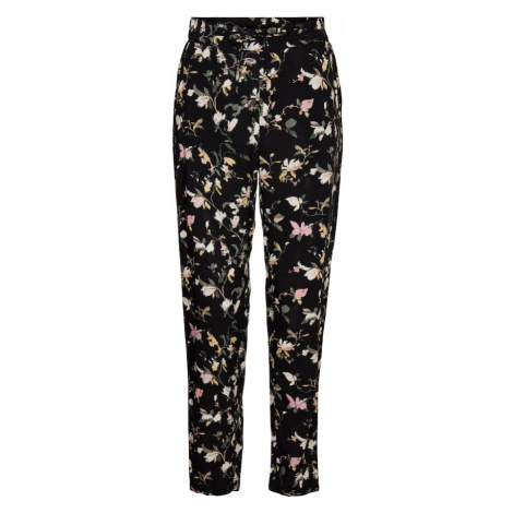 VERO MODA Kalhoty 'Simply Easy' černá / světle zelená / růžová / světle žlutá / béžová