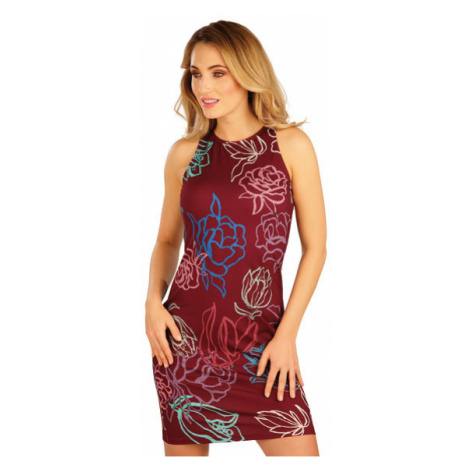Dámské šaty bez rukávu Litex 5A147 | tisk