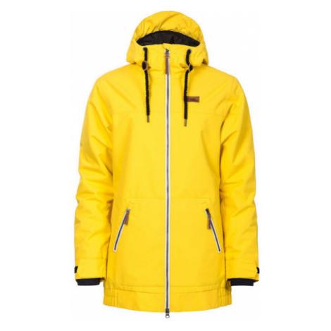 Horsefeathers OFELIA JACKET žlutá - Dámská zimní bunda