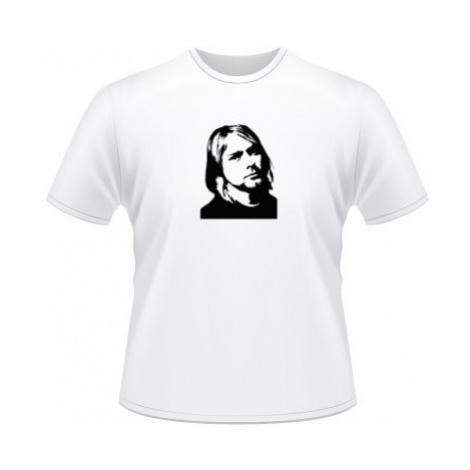 Pánské tričko na tělo Kurt Cobain