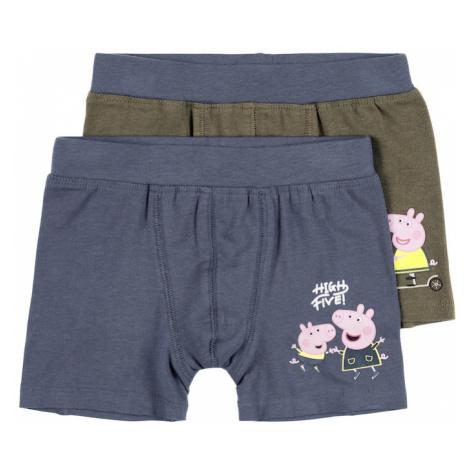 NAME IT Spodní prádlo 'Peppepig Alfred' indigo / khaki / pink