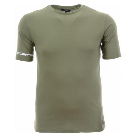 Pánské jednobarevné zelené tričko Gas