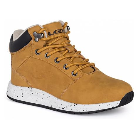 Hnědé chlapecké zimní boty LOAP