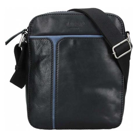 Pánská taška přes rameno Lagen Xerxes - černo-modrá