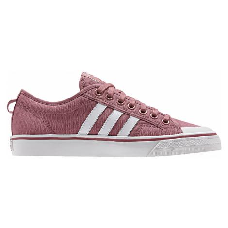 Adidas Nizza W Trace Maroon růžové BD7668